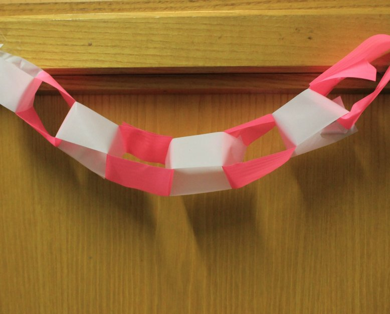 flagging tape for party decoration